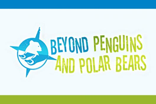 Beyond Penguins and Polar Bears lesson textual logo.