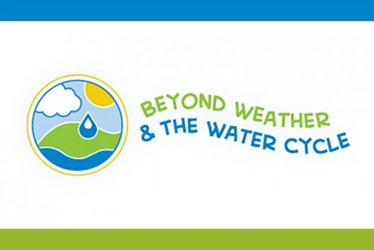 Beyond Weather and the Water Cycle textual logo.